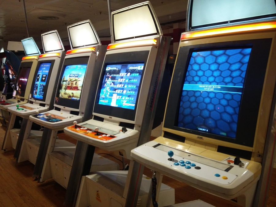 Arcade Machines are part of gaming history